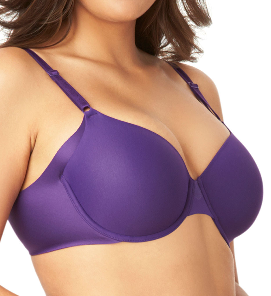 Black Mesh Bra, ADDICTION, $27; Blue Satin Bra, GODDESS, $ 5. Vertical cup seams Cup construction is very important if you're looking for support without an underwire. A simple, flat triangle is not going to cut it.