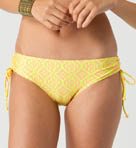 Away From It All Cinched Tie Side Swim Bottom