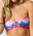 Painted Desert Bandeau Swim Top