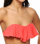 O'Neill Solid Ruffle Swim Top 13474062