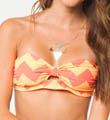 O'Neill Ziggy Stripe Bandeau Swim Top 14474128