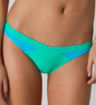 Color Block V Front Swim Bottom