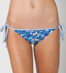 Daisy Tie Side Swim Bottom