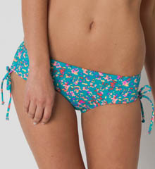 Sun Cinched Tie Side Swim Bottom
