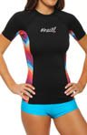 O'Neill Painted Desert Short Sleeve Crew Rashguard 4150S