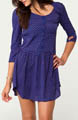Violet Shirt Dress Image