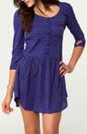 Violet Shirt Dress