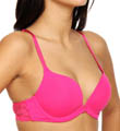 OnGossamer Luxe Lace And Micro Scoop Neck Push Up Bra 013500