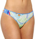 OnGossamer Paisley Pearls Hip G Thong 022150P