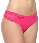 OnGossamer Luxe Lace And Micro Thong 022500