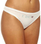 OnGossamer I Do Mesh Hip G Thong 022503I