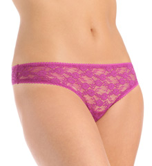 OnGossamer Stretch Lace Hip G Thong 022601