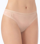 OnGossamer Mesh High Cut Thong 022958