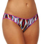 Triple Twist Mesh Hip Bikini Panty