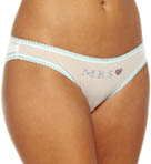 Mrs Mesh Bikini With Contrast Trim Panty