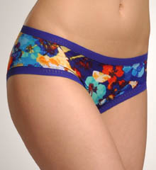 Tropical Getaway Mesh Hip Boyshort Panty