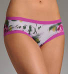 OnGossamer Love Blossoms Mesh Boyshort Panty 025150B