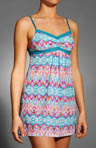 Island Hopping Triple Twist Mesh Nightie