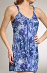 OnGossamer Out of The Blue Triple Mesh Nightie 082255