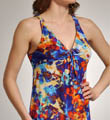 Tropical Getaway Mesh Empire Nightie Image