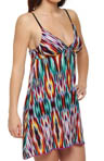 OnGossamer Trip To Paradise Triple Mesh Nightie 082553