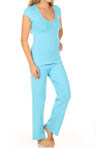 OnGossamer Cabana Cotton PJ Set 089065