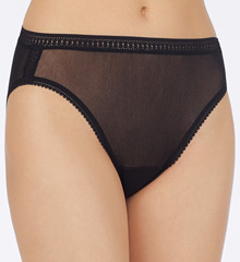 OnGossamer Mesh Hi Cut Brief Panties 3012