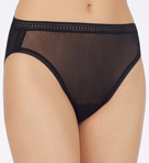 Mesh Hi Cut Brief Panties Image