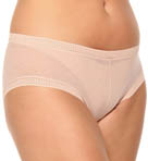 Mesh Hip Boyshort Panty Plus Size