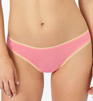 Mesh Hip-G Thong With Contrast Trim