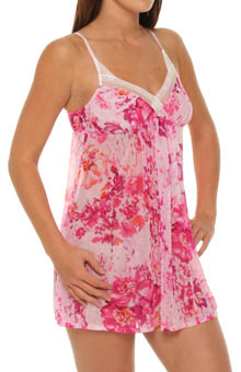 Watercolor Romance Chiffon Nightie