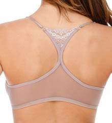 Whisper Racer Back Triangle Bra with Lace