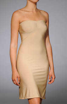 Strapless Chemise 22 Inch Slip