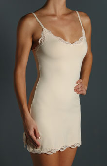 Delicious Lace Trim Chemise Slip