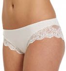 So Fine Lace Trim Hipster Panty Image