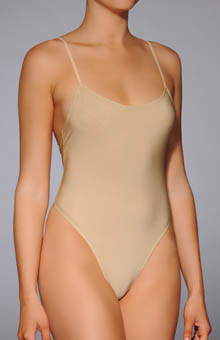 Only Hearts Second Skin Thong Bodysuit