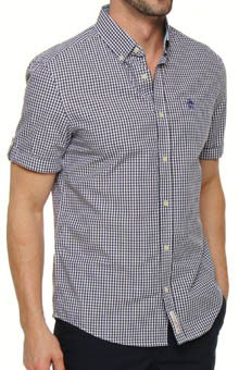 Short Sleeve Heritage Fit Gingham Shirt
