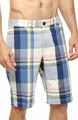 Original Penguin Blown Out Plaid Short FMH0008