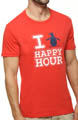 Original Penguin Penguin Happy Hour Crewneck Graphic Tee FMK0052