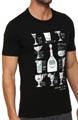Short Sleeve Cocktail Graphic Tee Image