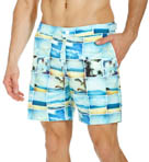 Original Penguin Photo Collage Volley Swim Short OPSS406