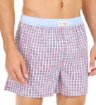Original Penguin Plaid Woven Boxers RPM3203