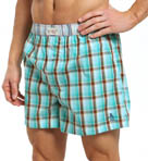Original Penguin Plaid Woven Boxers RPM3206