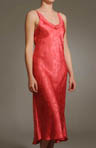 Etched Roses Long Gown