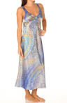 Celestial Nights Sleeveless Charmeuse Long Gown