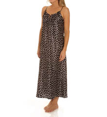Oscar De La Renta Dots Long Gown 680584