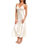 Oscar De La Renta Romantic Affair Charmeuse & Georgette Gown 680710