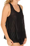 Oscar De La Renta Shadow Stripes Cami and Short Set 681353