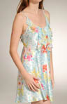 Blooming Jungle Printed Charmeuse Chemise