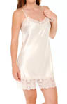 Timeless Romance Solid Charmeuse Chemise Image